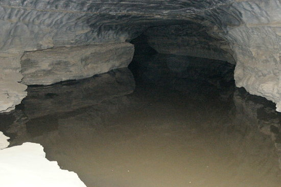 Parco nazionale della Grotta del Mammuth, KY: When it rains for days, even the River Styx gets a little higher.