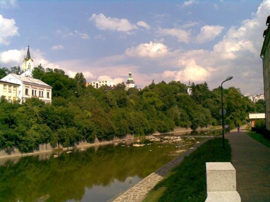 Vsetin, Czech Republic: Vsetín Bečva river