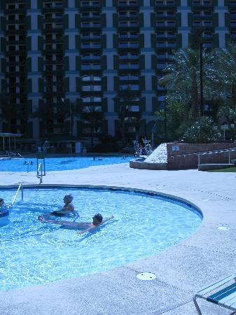 The Orleans Hotel & Casino: Part of the pool area