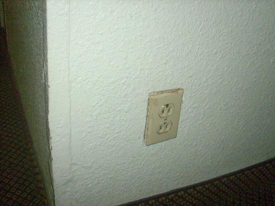 Rodeway Inn: questionable outlet we didn't use