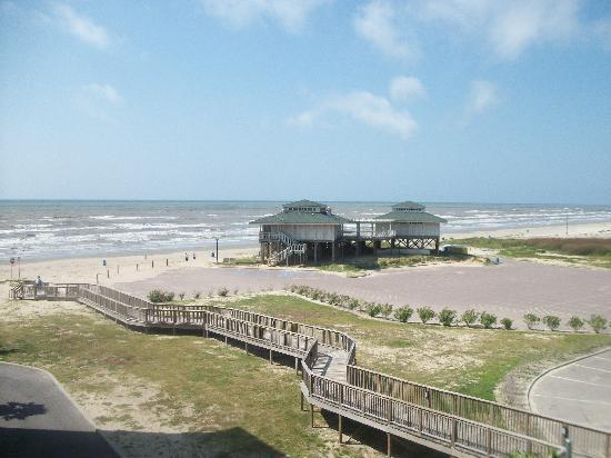 Holiday Inn Club Vacations Galveston Beach Resort: view from E34B