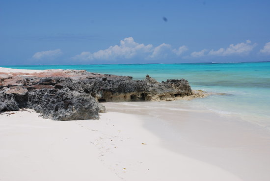 North Caicos: Beach