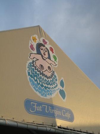 Fat Virgin's Cafe : Fat Virgin Facade