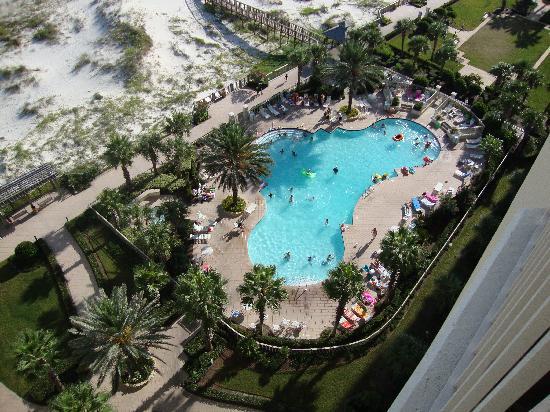 The Beach Club Resort & Spa: Our pool down below