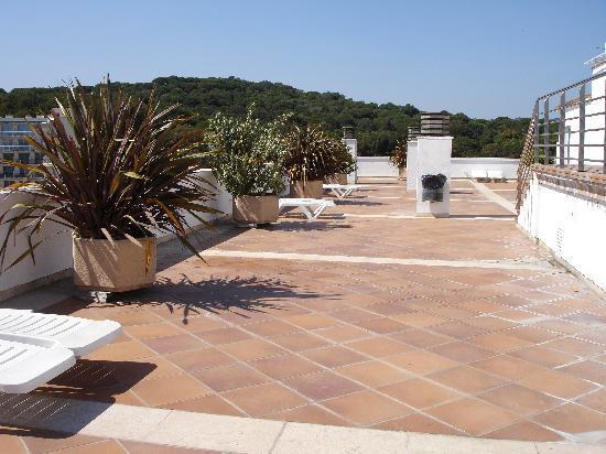 Apartaments Condado : Rooftop