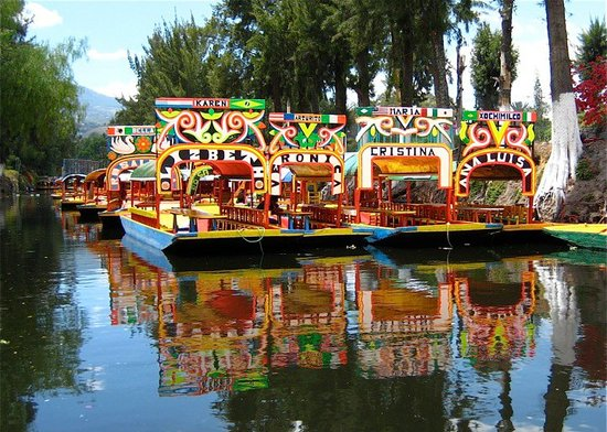 ‪Floating Gardens of Xochimilco‬
