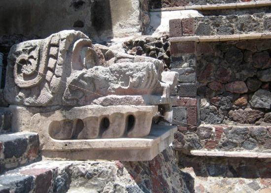San Juan Teotihuacan, Mexico: Entrance to Palace of the Jaguars.