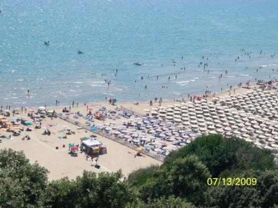 Gaeta, Włochy: the beach!!!!