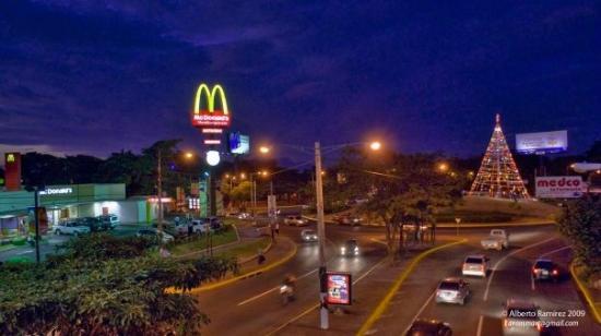 Managua, Nicaragua: Sector de Plaza España.