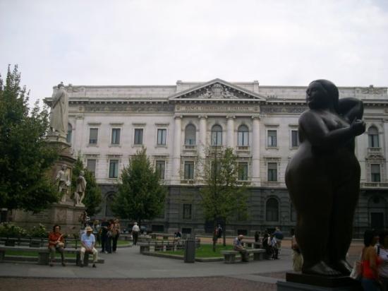 Scala de Milan (Teatro alla Scala) : Milan,Piazza della Scala
