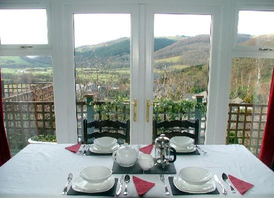 Dyfiview B&B : View from the dining room