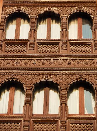 Malla Hotel: façade