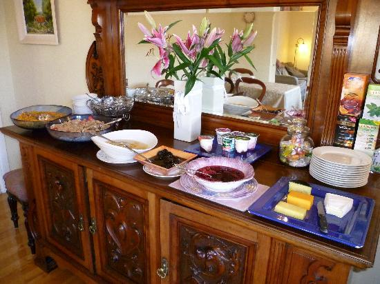 Bayberry House : You will love the breakfasts here