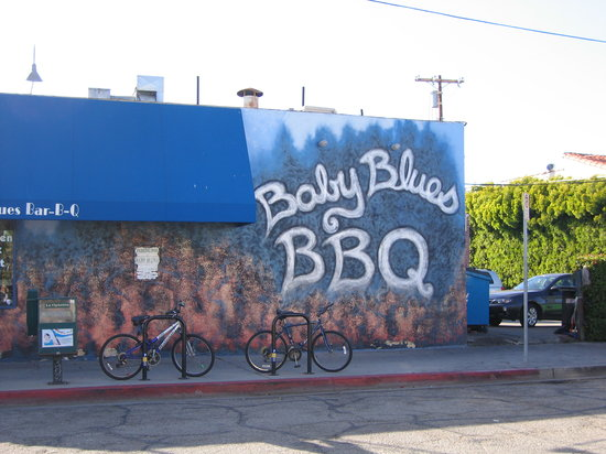 Baby Blues BBQ : Outside Wall
