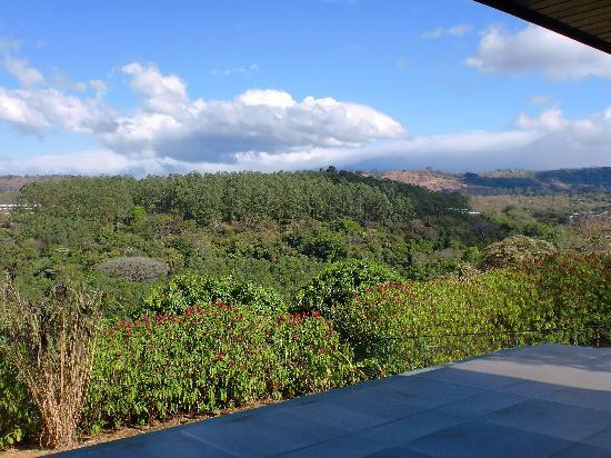 Vista Linda Montaña: view from balcony