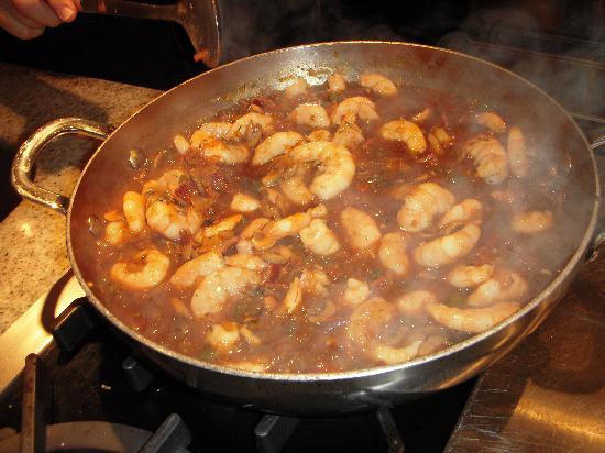 our favorite shrimp in red eye gravy yummy picture of