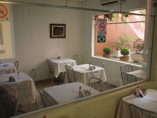 Hotel Itamarati: Breakfast area.