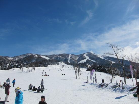 Ski Jam Katsuyama: スキー場下部