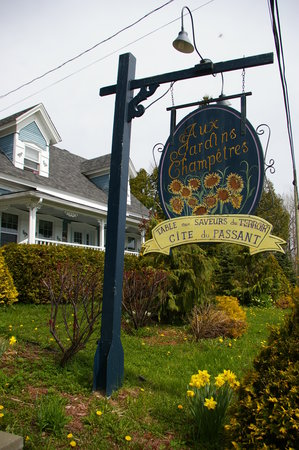 Auberge aux jardins champetres picture of aux jardins for Auberge jardin champetre magog