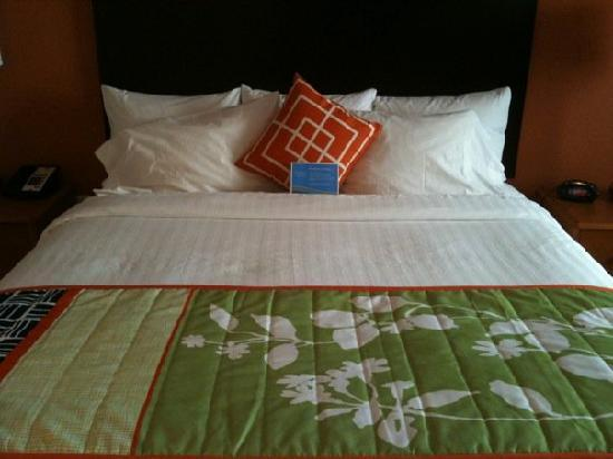 Fairfield Inn & Suites Miami Airport South: King Deluxe Room