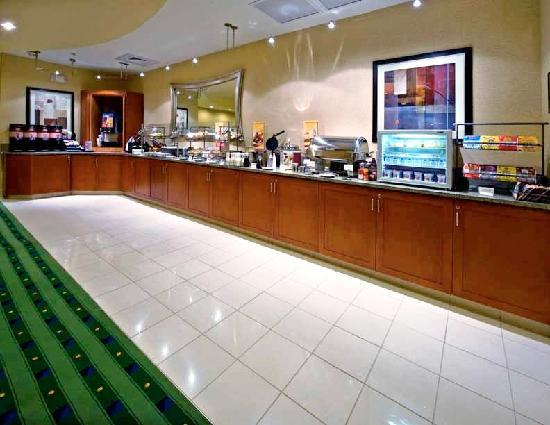 SpringHill Suites Columbus : Breakfast Buffet
