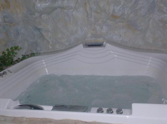 Hotel Alpenhof : bubblebath