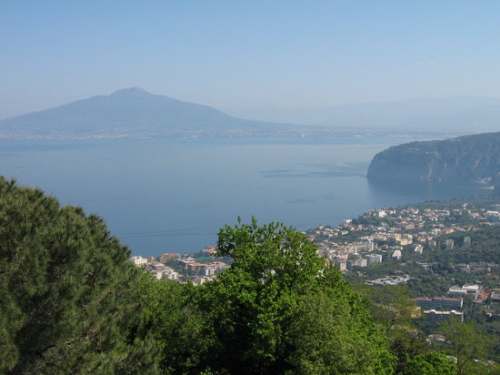 View from Villa Romita