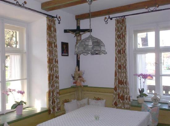 Mayrhof: breakfastroom
