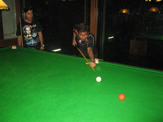 Udupi, الهند: Snooker