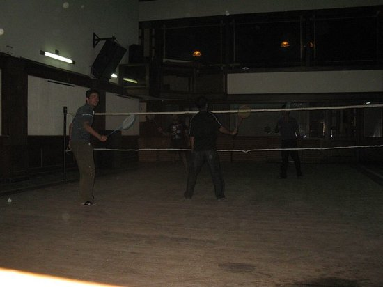 Udupi, الهند: Badminton court