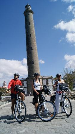 Electric Bike Tours Gran Canaria: The Lighthouse of Maspalomas