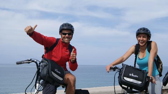 Electric Bike Tours Gran Canaria: Top of Meloneras Beach Promenade