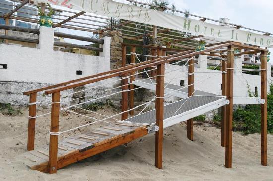 Hotel Il Faro : Strand