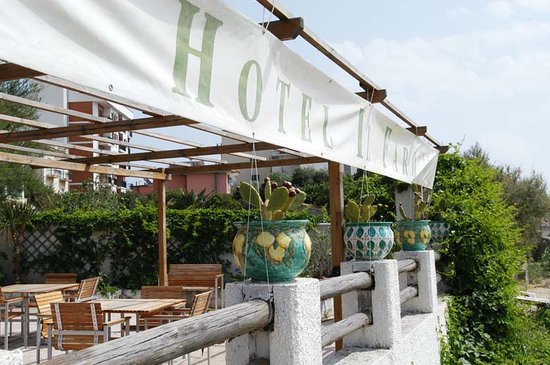 Hotel Il Faro : Garten