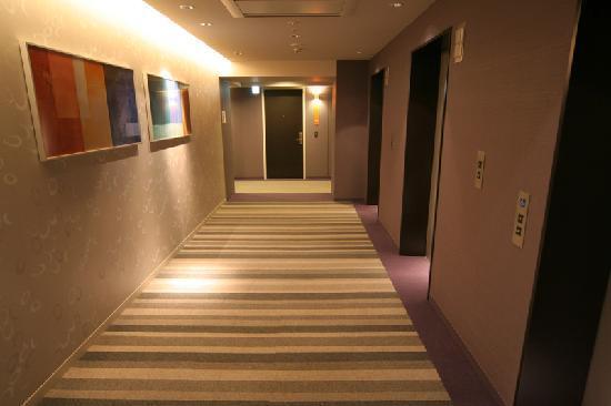 Citadines Shinjuku Tokyo: Lift area