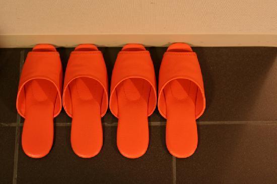 Citadines Shinjuku Tokyo: Slippers