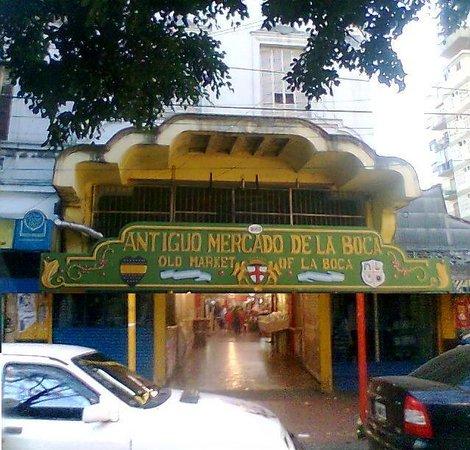 El Viejo Mercado de la Boca