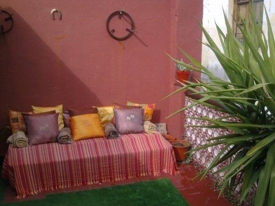 La Casa Maria: Terraza