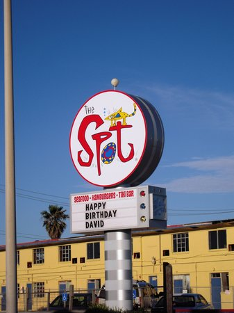 The Spot: Look for the sign!! =)