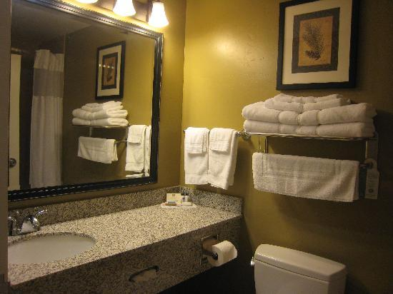 Best Western Plus Canyon Pines: Our Double Room Bathroom