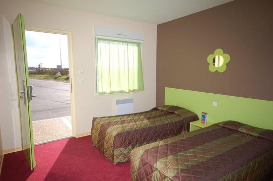 Fasthotel Orleans Artenay : ma chambre en motel sympa