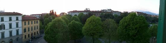 Hotel Caravaggio: View from our room
