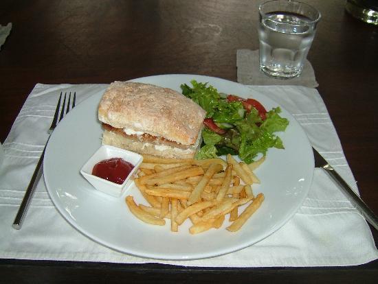 Frangipani Tree: tuna sandwich