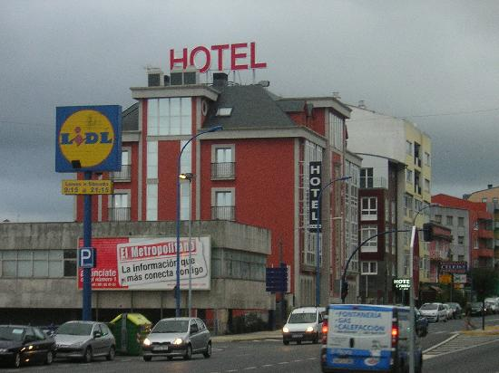 Hotel Crunia - A Coruña: Fachada del hotel