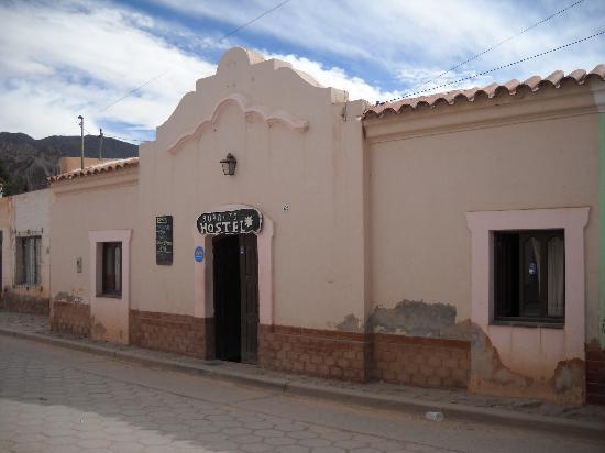 Burrito Hostel: Entrance