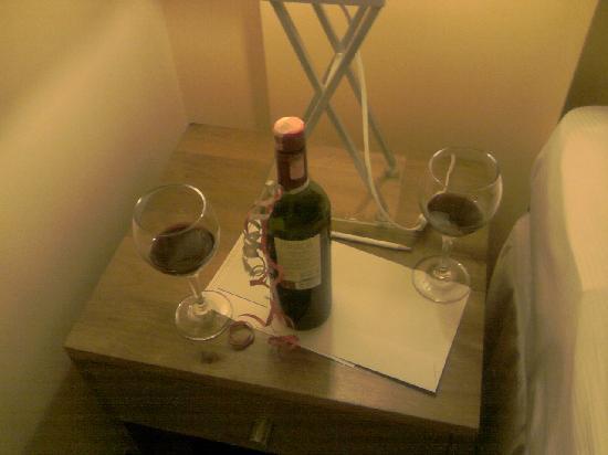 Royal Torarica: wine we received