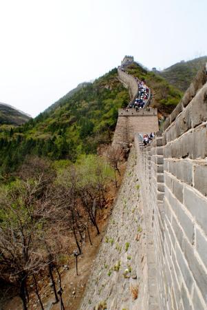 Bilde fra The Great wall of Jiankou-The Great Wall Alternative