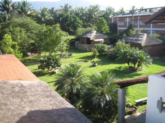 "Coimbatore, India: The rejuvenation centre garden - view from above (I wanted to say ""view from the beyond"") lol"