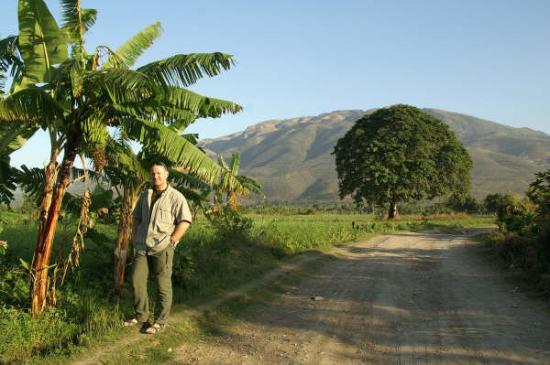 Port-au-Prince, เฮติ: Sommare 2005 på Haiti, under en ledig dag då vi tog en tur utanför Port au Prince