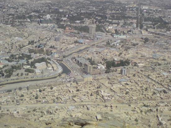 Jo då, där bor folk där nere (Kabul)